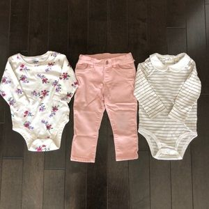 3 piece outfit pack, 12-18 month